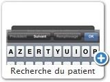 Recherche du patient