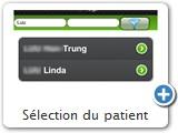 Sélection du patient